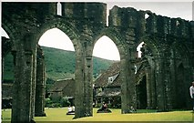 SO2827 : Arches at Llanthony Priory by Eirian Evans