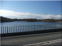 SE3917 : Nostell Priory upper lake. by Steve Partridge