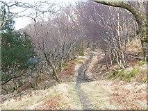 NM7479 : Post road to Glen Uig by Jim Bain