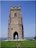 ST5138 : Glastonbury Tor by Eirian Evans