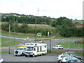 NZ1351 : Jolly Drover's Roundabout, Leadgate by Oliver Dixon
