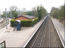 SP0073 : Barnt Green Station by Phil Champion