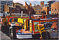 SP0686 : Narrowboats Moored in Gas Street Basin. by Colin Smith