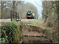 ST1826 : Halse Water Culvert, West Somerset Railway by Steve Edge