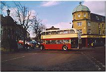 NU1813 : Market Square, Alnwick. by Colin Smith