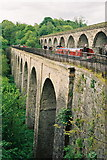 SJ2837 : Chirk Aqueduct and Viaduct by Pierre Terre