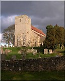 NZ0772 : St Mary's Church, Stamfordham by Richard Young