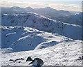 NN3835 : Col between Creag Mhor & its southern ridge Stob nan Clach by Hill Walker