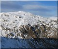 NN3935 : Southern cliffs of Creag Mhor. by Hill Walker