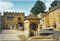 NY9650 : The Square, Blanchland. by Colin Smith