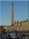 SE1437 : Salts Mill from Salts Mill Road, Saltaire by Rich Tea