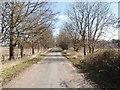 SU1877 : Quebec Road, Draycot Foliat by David Hawgood