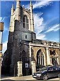 TL1998 : St. John the Baptist, Peterborough by Geoff Pick