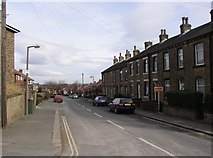 SE1321 : Highfield Road, Rastrick (SE133213) by Humphrey Bolton
