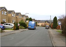 SE1321 : Mayster Grove, Rastrick (SE135215) by Humphrey Bolton