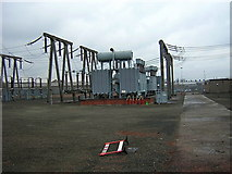 NS6262 : Electricity Substation, Rutherglen by Iain Thompson