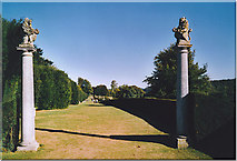 TQ1352 : Gateway to The Terrace, Polesden Lacey. by Colin Smith