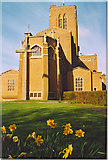 SU9850 : Guildford Cathedral, the East Front. by Colin Smith