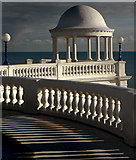TQ7407 : Bexhill on sea. Promenade Dome. by Simon Hookey