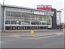 TQ2081 : Car showroom, Victoria Road, North Acton by David Hawgood