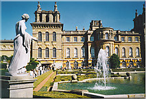 SP4416 : The West Front, Blenheim Palace. by Colin Smith