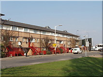 TQ2081 : Friary Road, Acton, junction with Western Avenue by David Hawgood