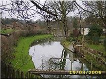 SJ5411 : Berwick Wharf Canal by Mr M Evison