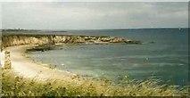NZ3965 : Marsden bay & Velvet Beds by Susan McGinty