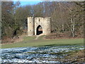 """SE3338 : The """"castle"""" in Roundhay Park by John Turner"""