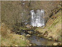 SE0263 : Waterfall on Hebden Beck by John Illingworth