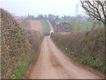 SX9894 : Mosshayne Lane by Derek Harper