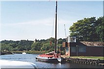 TG2608 : Wherry on the River Yare by Ken Crosby