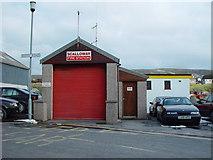 HU4039 : Scalloway Fire Station by John Dally
