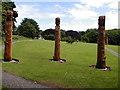 NJ6762 : Colleonard Sculpture Park by Alastair Seagroatt