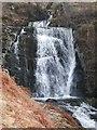 NN6914 : Allt Ollach waterfall by Steve Kent
