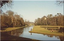 SE2768 : The Water Gardens at Fountains Abbey by Ken Crosby