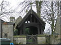 NZ1212 : Lych Gate : St. Mary : Hutton  Magna by Hugh Mortimer