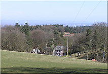 ST1536 : Great Quantock Farm from hill walk by Martin Southwood