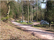 ST1637 : Ramscombe picnic area, upper car park by Martin Southwood