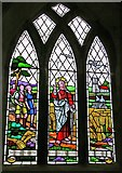 TF1392 : Ramblers' window, All Saints' Church, Walesby by Christine Hasman