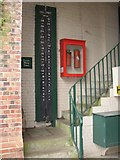 TQ1352 : Water gauge, Polesden Lacey, Great Bookham by Humphrey Bolton