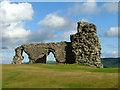 SJ2243 : Castell Dinas Bran by Nigel Williams