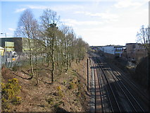 SP0176 : Birmingham and Bristol main line by David Stowell