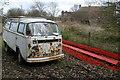 SO3737 : Old VW Camper Van by Philip Halling