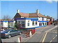 TQ8312 : The Kings Head by the A259 by N Chadwick