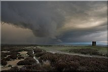 NZ7309 : Wall Cloud at Danby Beacon by Colin Grice