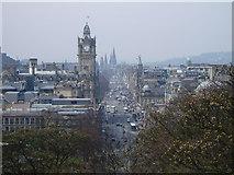 NT2674 : Princes Street from Calton Hill, Edinburgh by Kevin Rae