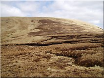 NT1514 : Peat hags on Gupe Craig by Eileen Henderson