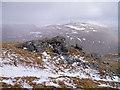 NN3433 : Rock outcrop on Beinn Odhar by David Gruar