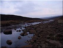 NY7731 : River Tees by Andrew Smith